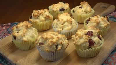 Almond Cranberry Muffins